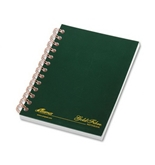 Ampad 20-801 Gold Fibre Classic Series Personal Notebook, with Pocket Cover, Page and Date Headings with Pocket Cover,date Medium Ruling 100 Sheets.