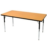 AP-F52436 Allied Plastics F500 Series Quick Ship Particleboard Activity Table