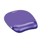 Fellowes Asst Gel Crystal Wrist Rests 4 Blu