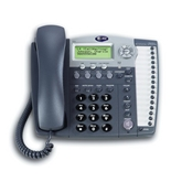 AT&T 974 Small Business System Speakerphone with Intercom and Caller ID/Call Waiting (Titanium Blue)