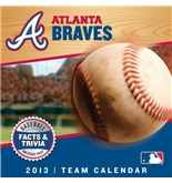 Atlanta Braves 2013 Daily Box Calendar 5.375- X 5.25-
