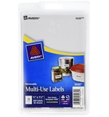 Avery Multi-Use Labels - 0.75x1.5 Inches