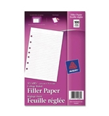 Avery Filler Paper, 5.5 x 8.5 Inches, 100 Sheets (14230)