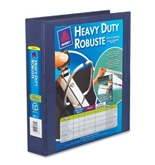 Avery Heavy-Duty View Binder with 1.5-Inch One Touch EZD Ring, Navy Blue (79805)