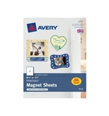 Avery Magnet Sheets, 8.5 x 11 Inches, White, 5 Pack (03270)