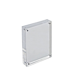 Azar Displays 5-Inch by 7-Inch Vertical/Horizontal Block Frame - 104434