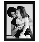 MCS Gallery Flat-Top 8x10 Frame - Black - 42350
