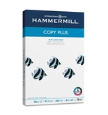 "Hammermill Copy Plus Paper, 20 lb, Legal Size  - 8.5 x 14"", 92 Bright, 500 Sheets/1 Ream - 105015"