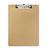 Bazic Hardboard Clipboard with Low Profile Clip, Standard Size (Case of 24)