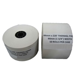 48 44mm Thermal Cash Register Paper Rolls Sharp/Casio