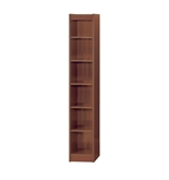 Safco 6-Shelf Veneer Baby Bookcase, 12-Inch W, Cherry