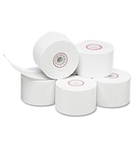 "PM Company Single-Ply Thermal Cash Register/Point of Sale Rolls, 1-3/4"" x 150 ft, 10/Pack"