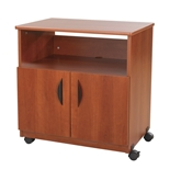 Safco Products Mobile Office Machine Stand, Cherry, 1850CY