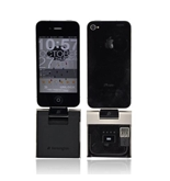 Black Silver Original Kensington Universal Apple PowerLift Back-Up Battery, Dock, & Stand, K39253US