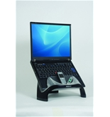 Laptop Riser with USB Connection 13 1/8 x 10 5/8 x 7 1/2 Black/Clear