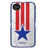 OtterBox Defender Series Case and Holster for iPhone 4/4S - Anthem Collection Star Stripes