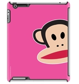 Paul Frank Zoom Julius Pink Deflector Hard Case for iPad 2/3/4, Multicolored -C0005-DR
