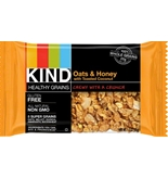 Kind Bar Healthy Grains Bar Oats and Honey with Toasted Coconut, Box of 12