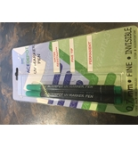 Acedepot sharpie type / fine tip UV marking pens Set of two