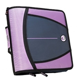 Back To Scool Hard To Find Assortment of Case-it Binders (The Mighty Zip Tab - Lilac)