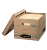 Bankers Box Letter/Legal File Storage Box 00972 2pk