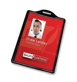 Baumgartens 68320 Vertical ID Card Holder, Box of 25
