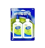 BAZIC 4 Oz. 118mL White Glue, 2 per Pack