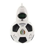 Bell Phones 2.4 GHz Mexican Soccer Federation Ball Cordless Phone
