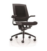 Bodyflex BF4100BLK Office Chair with Black Frame and Black Fabric