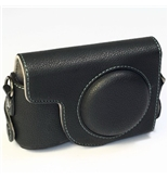 (Black) Leather Camera Case for Ricoh GR Digital / GRD (136-1)