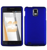 Blue Rubberized Protector Case for Samsung Infuse i997