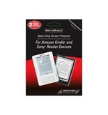 Body Glove WriteRight Universal e-Reader Static Cling Screen Protector, 2 Pack (9202401)