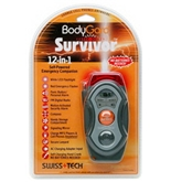 BodyGard Survivor Self-Powered Radio w/Flashlight