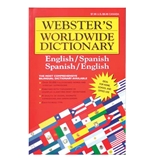 WEBSTER Jumbo 320 Pg. Spanish-English Dictionary