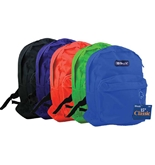 BAZIC 15 School Backpack