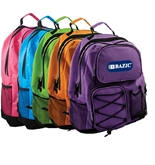 BAZIC 17 Odyssey Bright Color Backpack