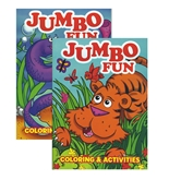 JUMBO Fun Coloring & Activity Book