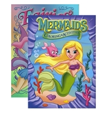 JUMBO FAIRIES / MERMAIDS Coloring & Activity Book