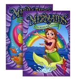 MERMAIDS FOIL & EMBOSSED Coloring & Activity Book