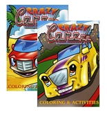 JUMBO CRAZY CARZZZ Coloring & Activity Books