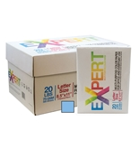 EXPERT 8.5 X 11 Blue Colored Copy Paper (10 Reams/Case)