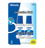 BAZIC 20ml / 0.7 fl. oz. Correction Fluid (2/Pack)