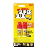 PACER 0.11 Oz / 3g Jewelry / Nail Super Glue Bottle (2/Pack)