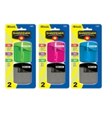 BAZIC Dual Blades Sharpener with Square Receptacle (2/Pack)