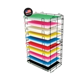 BAZIC 22 X 30 10-Slots Foam/Poster Board Display Rack
