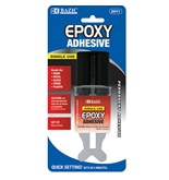 BAZIC 0.2 Oz / 5.6g Quick Setting Epoxy Glue with Syringe Applicator
