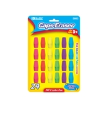 BAZIC Neon Eraser Top (24/Pack)