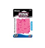 BAZIC Pink Eraser Top (20/Pack)