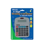 BAZIC 8-Digit Calculator with Adjustable Display