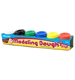 BAZIC 2 Oz. Multi Color Modeling Dough (6/Pack)